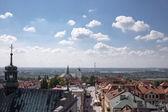 Techos de sandomierz. — Foto de Stock