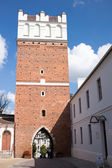 Visit in Sandomierz city. — Stock Photo