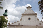 Cathedral in the Zamosc. — Stock Photo