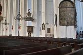 Interior da antiga catedral em gdansk, polónia. — Foto Stock