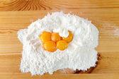 Crunch cakes called faworki. — Photo