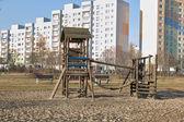 Park outdor in Gdansk Zaspa. — Stock Photo