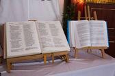 Catholic holy book. — Stock Photo