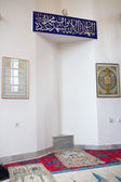 A visit to in the mosque. — 图库照片