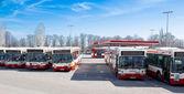Gdansk city bus. — Stock Photo