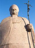 Pope monument — Stock Photo