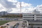 Cranes in Gdansk. — Foto de Stock