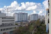 Cranes in Gdansk. — 图库照片