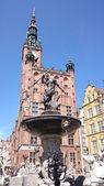 Cidade velha de gdansk. — Foto Stock