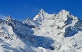 Alps Mountain Range and Glacier — Stock Photo