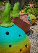 Keramik-obst — Stockfoto