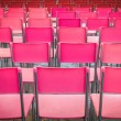 Pink and red colors seat — Stock Photo