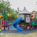 Public playground — Stock Photo #31599375
