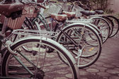 Vintage bicycle — Foto de Stock