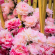 Stock Photo: Bunch of pink flower