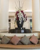 Decoratie in de lobby van het hotel — Stockfoto