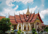 Main chapel at chalong temple, phuket, thailand — Stock Photo