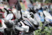Abtract motorcycles — Stock Photo