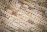 Sandstone brick background — Foto Stock