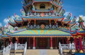 Chinese style architecture — Stock Photo