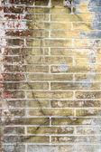 Eski grunge tuğla duvar arka plan — Stok fotoğraf