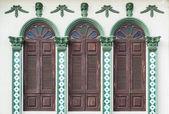 Chino Portuguese style architecture — Stock Photo