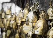 Many of holy bell — Foto Stock