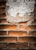 Old grunge brick wall background — Stockfoto