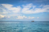 Fishing boat on the sea — Stock Photo