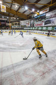 Hockey Fassa vs Brunico — Stock fotografie