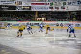 Hockey Fassa vs Brunico — ストック写真