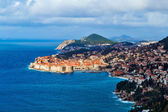 Panorama of Dubrovnik Old Town — Стоковое фото