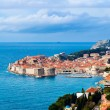 Sunny day over Dubrovnik old town — Stock Photo #26676053