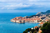Sunny day over Dubrovnik old town — Stock Photo