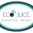 Stock Photo: Simple oval sign for organic, ecological beverage