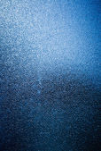 Blue opaque glass with ice illusion — Stock Photo