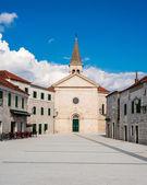 Small mediterranean town in southern Dalmatia, Croatia — Stock Photo