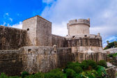 The outer walls of the old city of Dubrovnik — Stock Photo