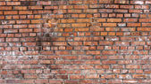 Red old brick wall — Stock Photo