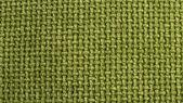 Konsistens av grönt tyg säckväv — Stockfoto