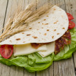 Flatbread — Stock Photo