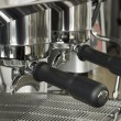Part coffee machine close-up — Stock Photo