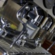 Part coffee machine close-up — Stock Photo #24400737