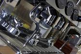 Deel koffiemachine close-up — Stockfoto