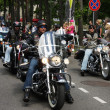 Harley Davidson motorcycle parade — Stock Photo