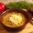 Sour cabbage soup — Foto Stock