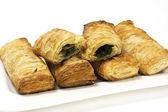 Färska bakning puff bakverk — Stockfoto