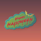 Glad halloween — Stockvektor