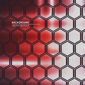 Abstract technological background lattice — Vector de stock