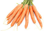 Carrot bunch — Stock Photo